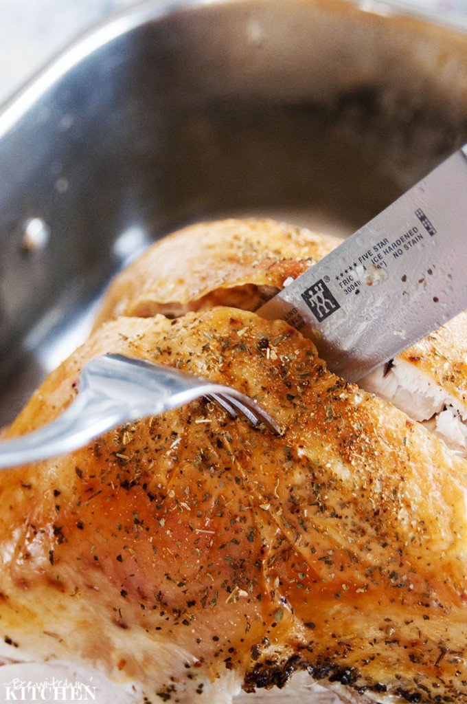 Creating the flavour of home with the perfect turkey dinner. Some additional tips for roasting the perfect turkey.   The Bewitchin' Kitchen
