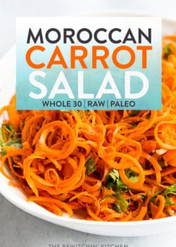 whole30 moroccan carrot salad recipe
