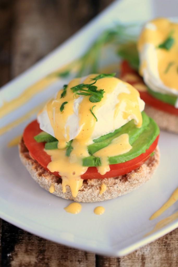 California Eggs Benedict recipe