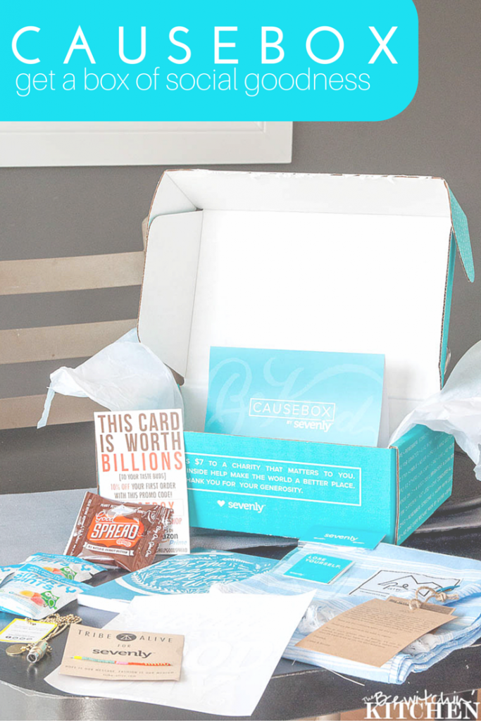 Causebox is a quarterly subscription box, that brings you $150 worth of stuff for $50 PLUS donates to a charity of your choice. See what products you receive in this quarter's review  on The Bewitchin' Kitchen.