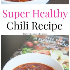 THE BEST CHILI EVER - Super lean and healthy chili recipe from Teena's Fitness. Ground chicken or ground turkey works well with this healthy recipe.