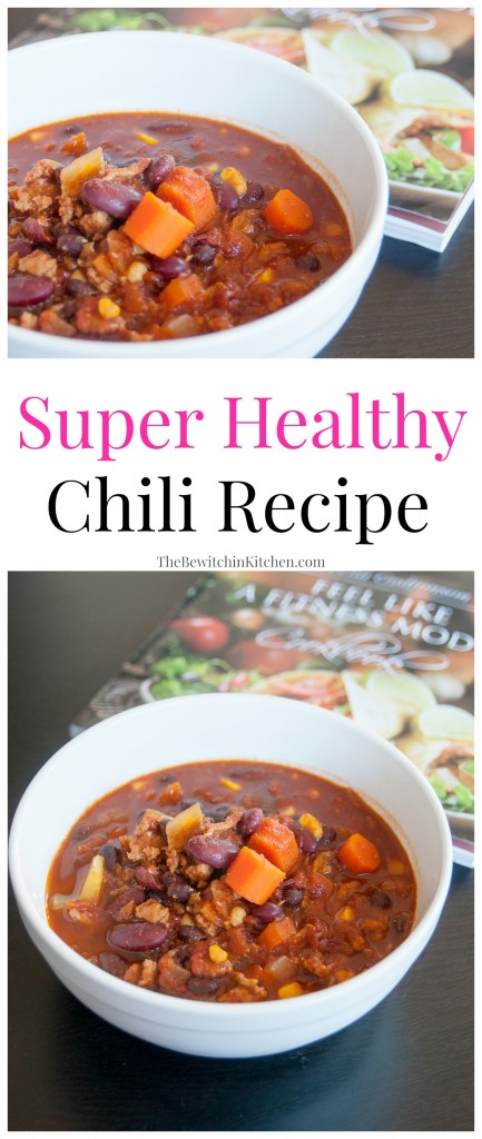 Super Lean Chili Recipe from Feel Like a Fitness Model Cookbook