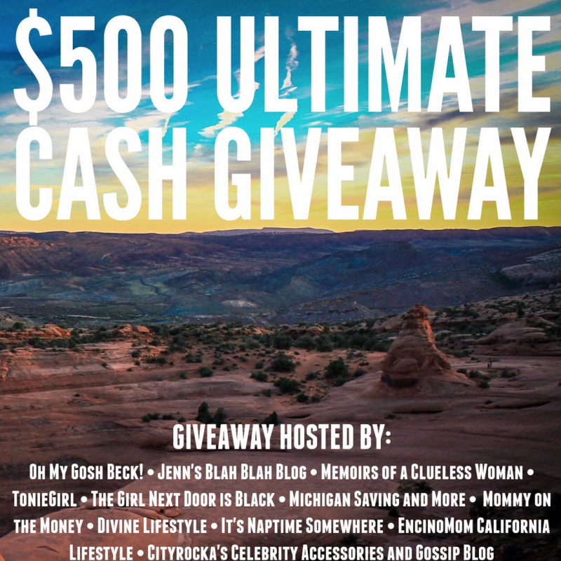 $500 Ultimate Cash #Giveaway