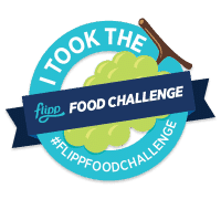 #flippfoodchallenge badge