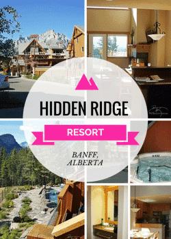 Hidden Ridge Resort in beautiful Banff, Alberta. Such an amazing Canadian travel destination!