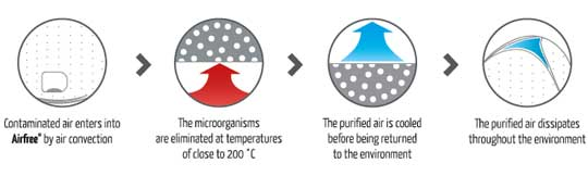 The Airfree Air Purifier, if you suffer from allergies this is something you should look into.