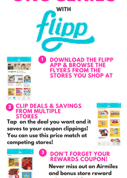 How to save money on groceries. How to use the Flipp app to not only save money but time!