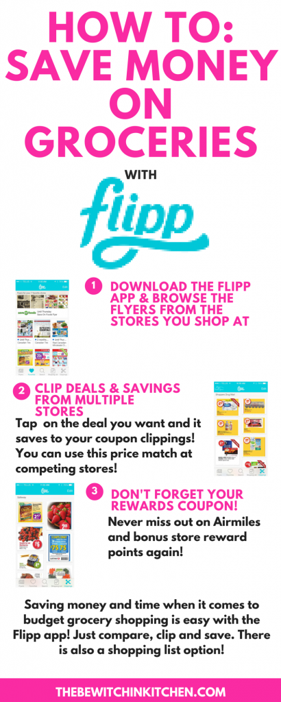 Saving Money and Time With The Flipp App #FlippFoodChallenge