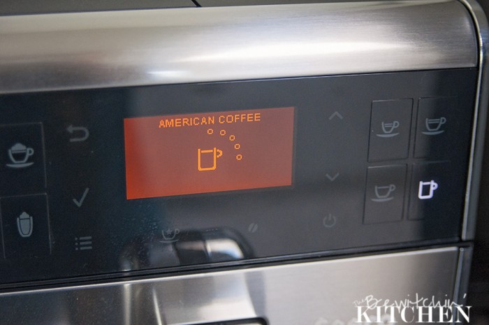 The Saeco GranBaristo is a coffee game changer. It makes everything from regular coffee, latte, cappuccino, etc. From bean to cup with the press of one button.   The Bewitchin' Kitchen