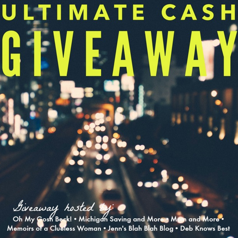 Ultimate Cash Giveaway – May 2015