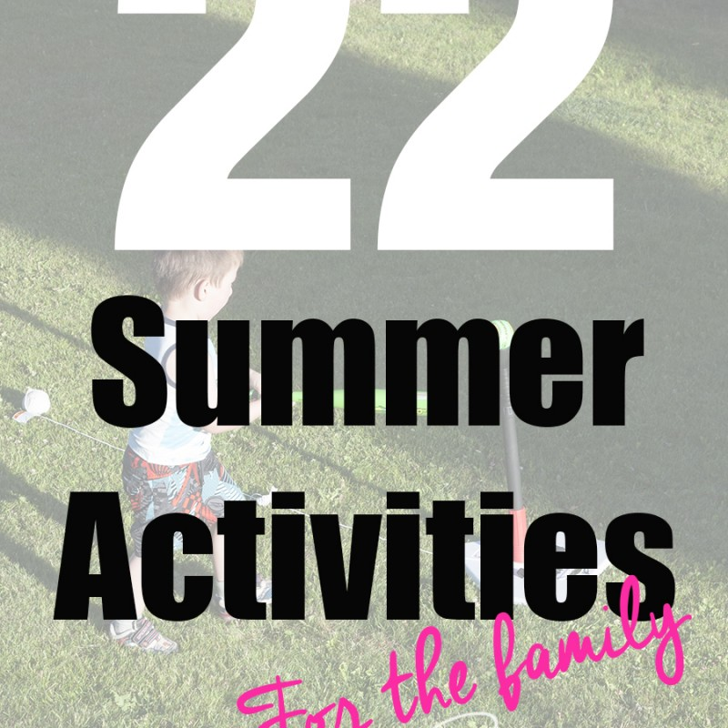 22 Summer Activities For The Family + Win a Shaun The Sheep Prize Pack