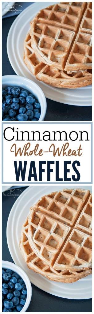 Cinnamon whole wheat waffles recipe. This is the perfect weekend breakfast recipe, and it's low in sugar. Cinnamon whole wheat waffles recipe. This is the perfect weekend breakfast recipe, and it's low in sugar.