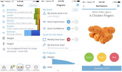 Kurbo Health App: a mobile app that helps with maintaining a healthy life style and promotes healthy choices for kids and teens
