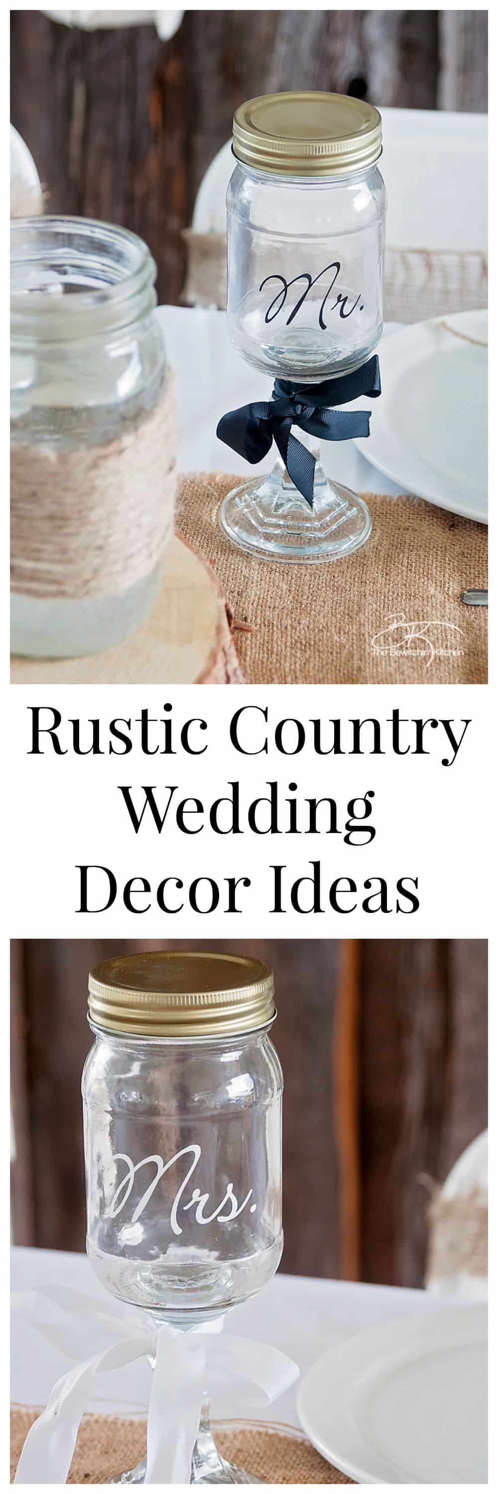 New Rustic Country Wedding Centerpieces – Wedding