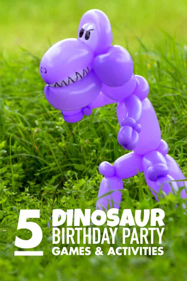 5 Dinosaur Party Games and Activities Guests Will Dig