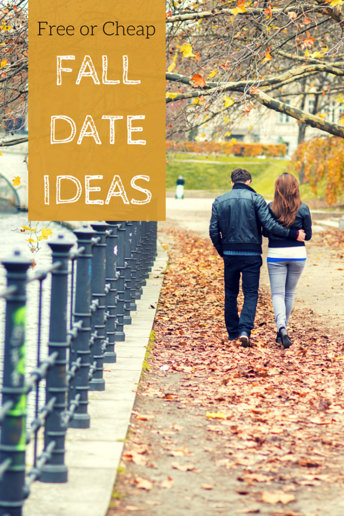 Fall date ideas that won't break the bank! Budget friendly date ideas that are cheap or free!