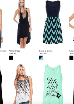Where to buy cute clothes on a budget. This is my new favorite online clothing store! Dresses, workout clothes and more!