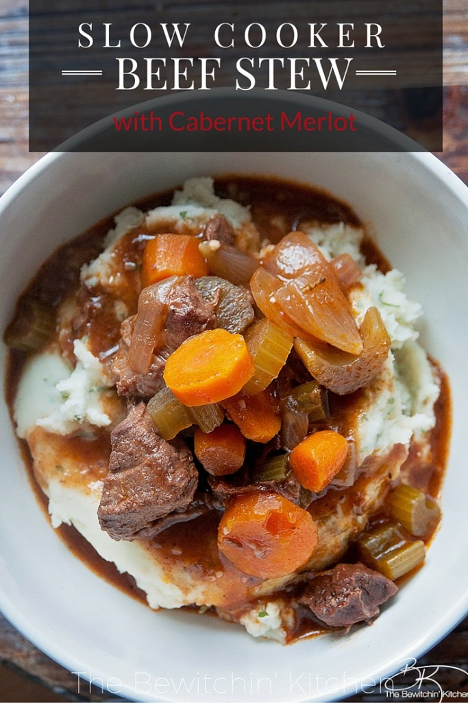 for dinner? Try this Slow Cooker Beef Stew recipe. Simmered in beef ...