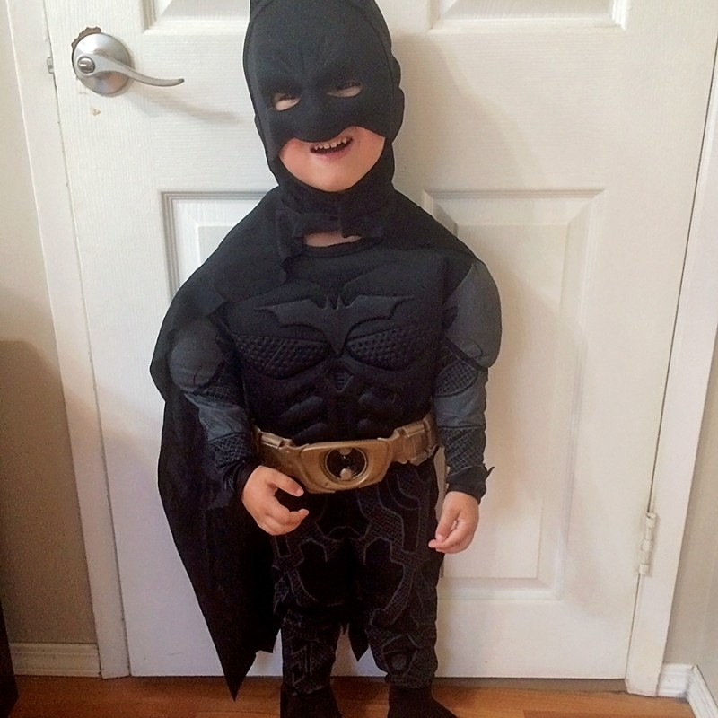 Batman Superhero Costume Halloween 2015