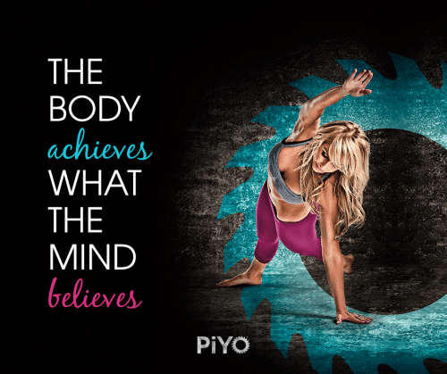 calories burned doing Chalene Johnson's PiYO
