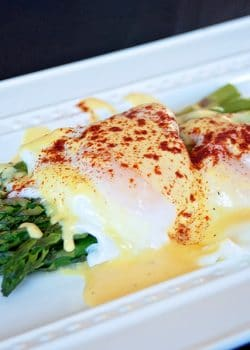 Check out this healthy hollandaise sauce recipe. Just because you're eating healthy or on a weight loss diet doesn't mean you have to give up your favorites!