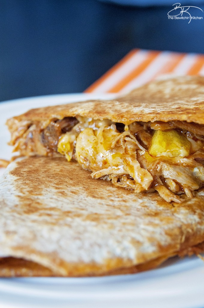 Pulled Pork Quesadillas - Slow Cooker Style | The ...