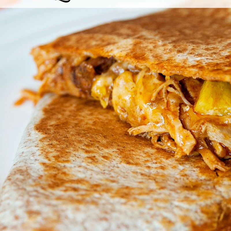 Pulled Pork Quesadillas – Slow Cooker Style