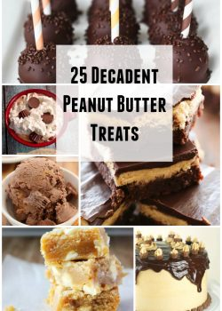 If you're a sucker for peanut butter, the peanut butter treats will totally rock your world! Celebrate your favorite snack by dressing it up in all of these delicious peanut butter treats. Which one do you want to try most?