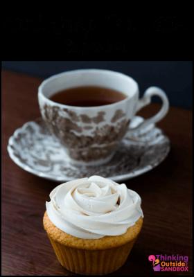 Earl Grey Tea Latte Cupcakes