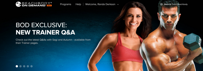 Beachbody On Demand is like Netflix but for Beachbody workouts! You even get ones you haven't bought!