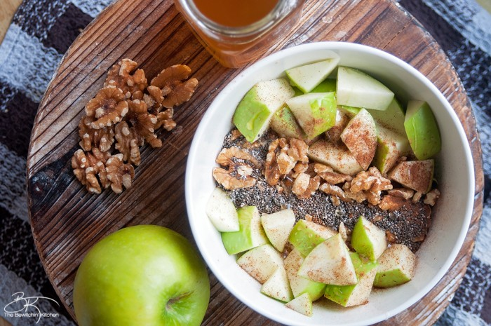 Apple Cinnamon Yogurt Bowl and The Benefits of Fiber #sponsored