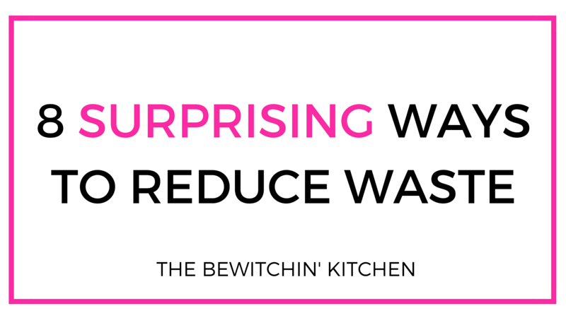 8 Surprising Ways To Reduce Waste #SCJZeroWaste