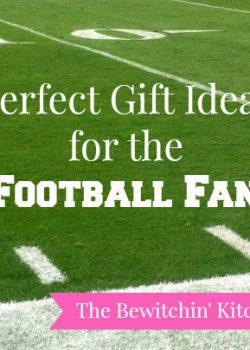 Perfect Gift Ideas for the Football Fan. Christmas gift ideas for the love of football.