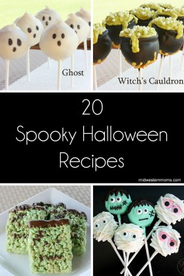 Halloween recipes featured on The Bewitchin' Kitchen's linky party