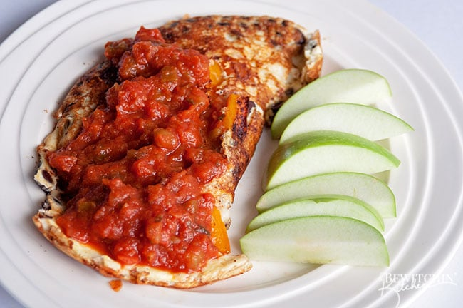 Spice up your typical breakfast recipes with this twist on a classic omelet. This fajita omelet hits the spot for breakfast, lunch and even dinner. Loaded with protein it's the perfect way to start the day.