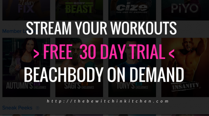 Get the free 30 day trial! Beachbody On Demand is like Netflix but for Beachbody workouts! You even get ones you haven't bought! Improve your fitness, reach new goals, get stronger and lose weight with the 21 Day Fix, Insanity, P90X, Turbo Fire, Body Beast and many more!