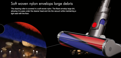 The Dyson V6 Absolute's BEST attachment. I LOVE this bar, it cleans my floors so well.