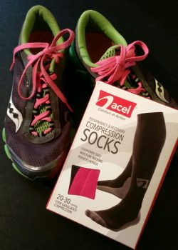 How a pair of compression socks saved my newbie runner legs. New runner tips - try these socks.