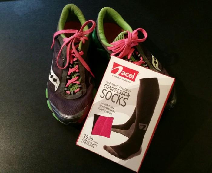ACEL Compression Socks + #giveaway