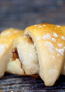 Rugelach recipe: the easiest pastry recipe! Perfect for Christmas baking and exchanges. This dessert recipe was given to me by a dear friend who got it from her grandmother. | The Bewitchin Kitchen