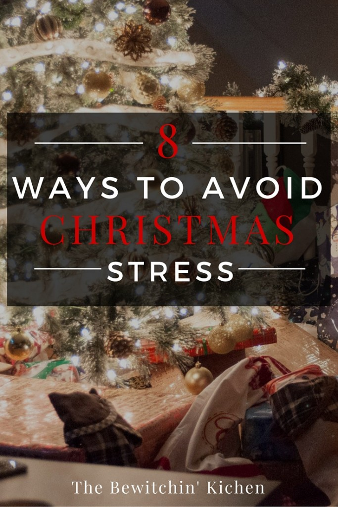 8 ways to avoid Christmas stress. Christmas is for spending time with family and enjoying the company of loved ones. Here are some tips to reduce holiday anxiety and a forgetful mind (plus a few links to Christmas recipes and Christmas crafts).