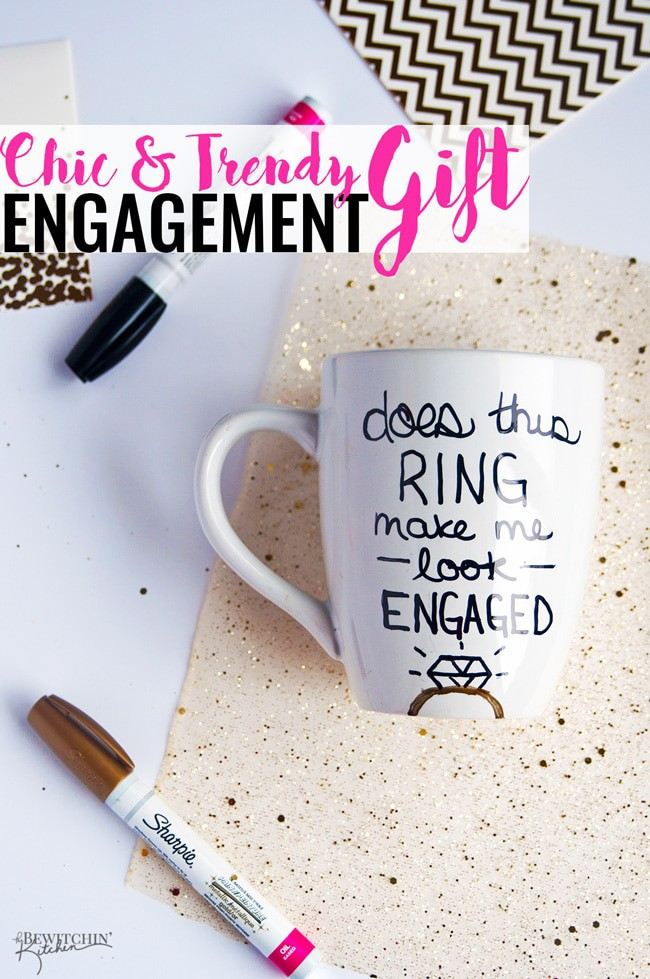 Diy Engagement Gift Idea The Bewitchin Kitchen