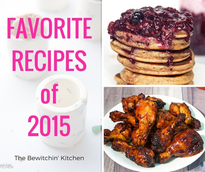 Favorite Recipes of 2015