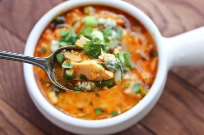 Paleo Buffalo Chicken Soup recipe and a Paleo Meal Plan