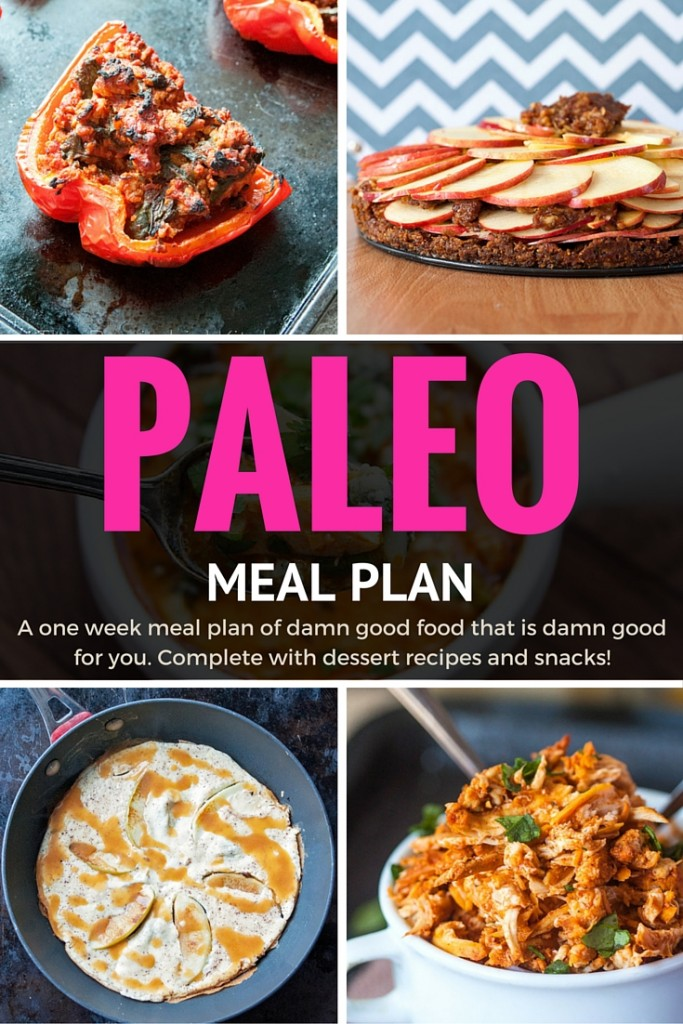 Paleo Meal Plan - 1 Week Of Yummy and Healthy Meals