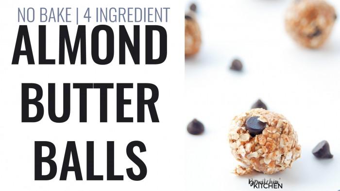 Almond Butter Balls