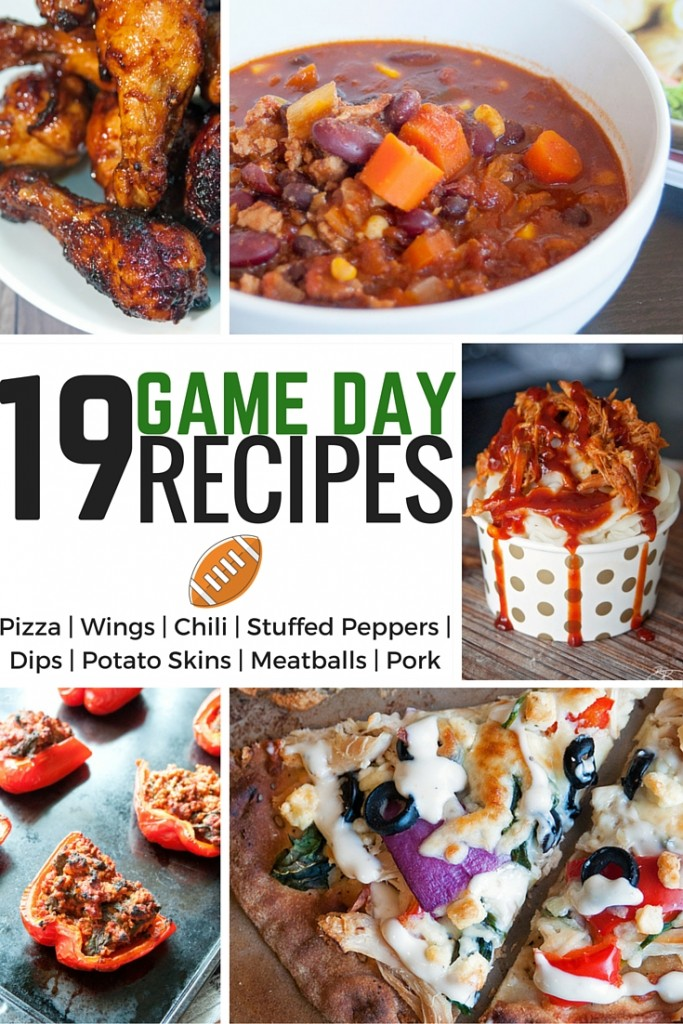 19 Game Day Recipes that will make your Super Bowl Party a success (my favorite Super Bowl recipe are the Sweet Sriracha wings).