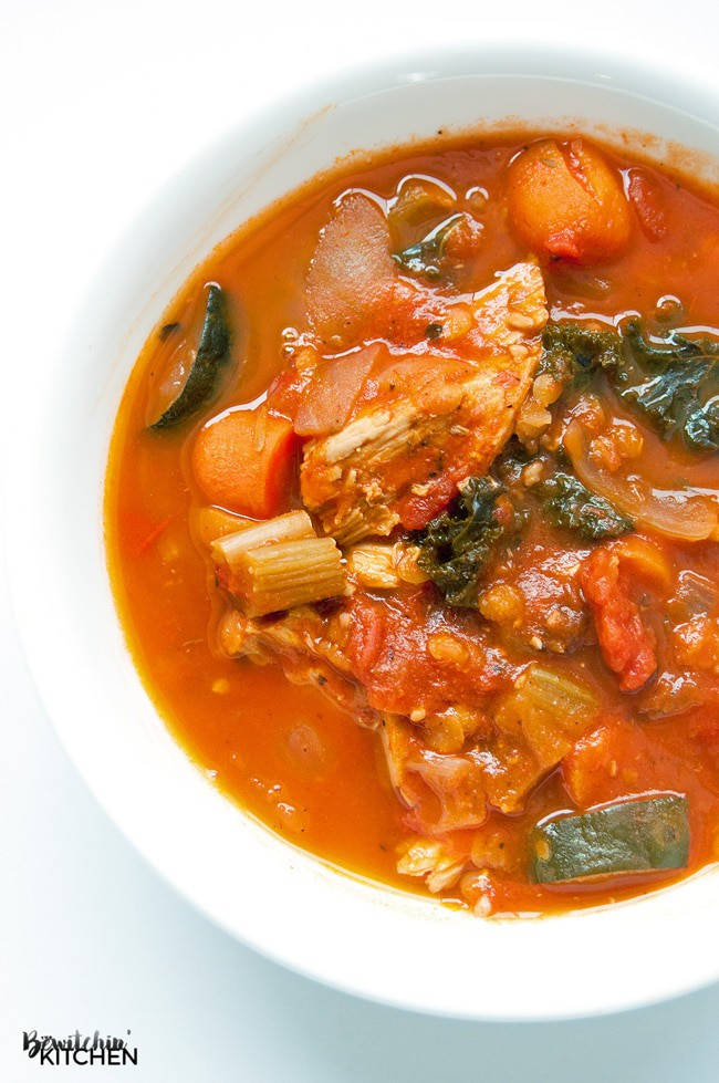"""... all soups to """"the best soup ever"""". 