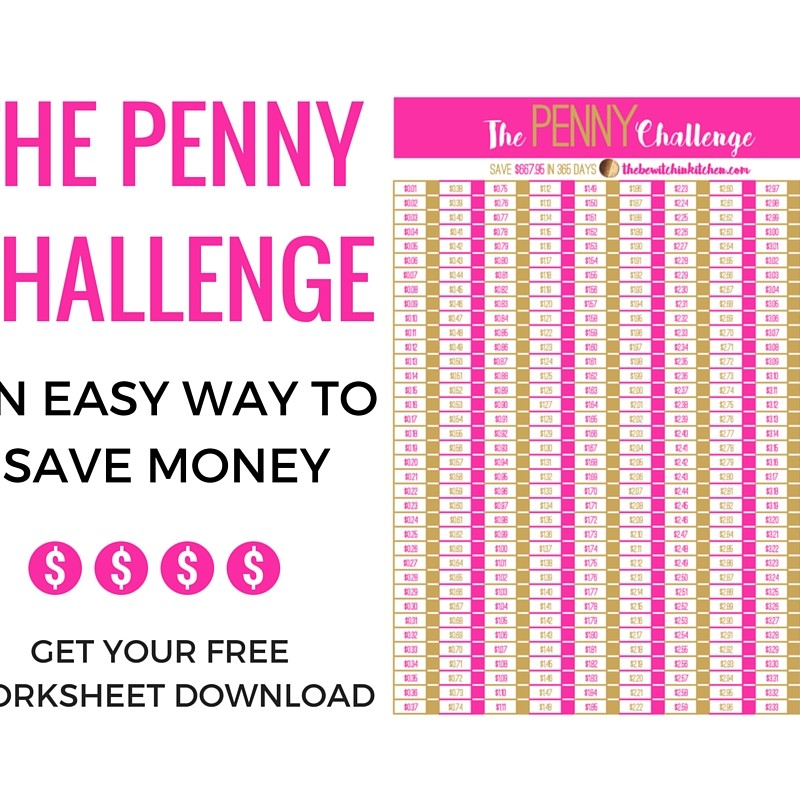 Easy Way To Save Money – The Penny Challenge