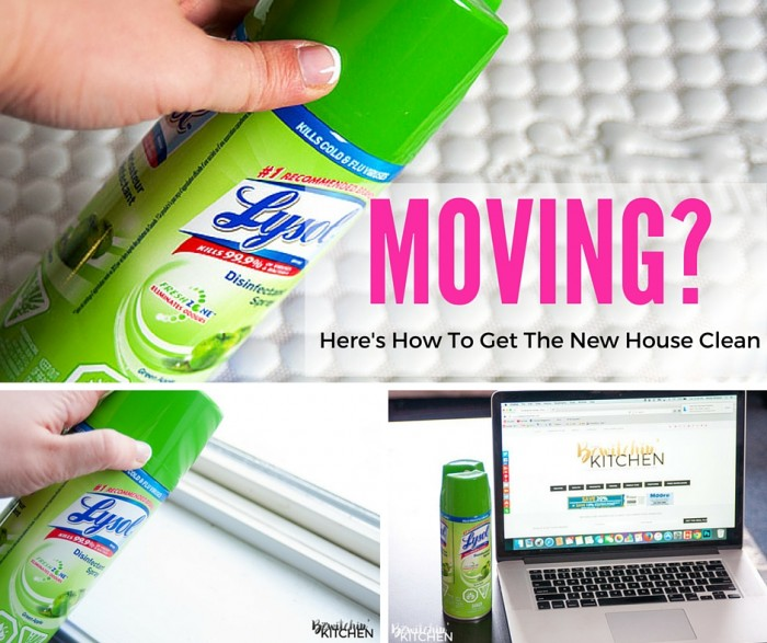 Moving? Here's How To Get The New House Clean